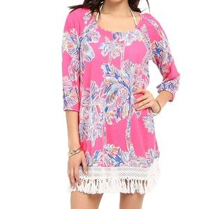 Lilly Pulitzer Alia Beach Coverup in Nice Stems